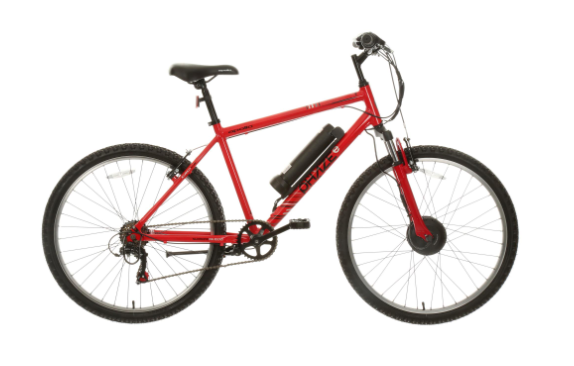 apollo phaze electric mountain bike in red