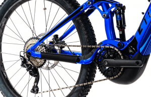 shimano m6000 1 x 10 fitted to the giant stance e +2 electric mountain bike