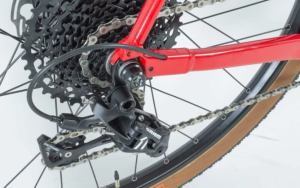 sram 1 x 11 gearing on a ribble electric gravel bike